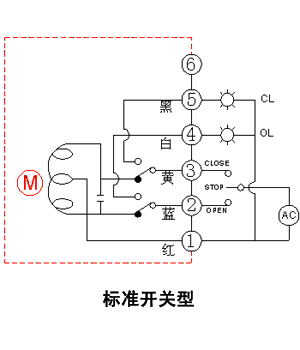 博睿bj-q1智能型电动阀门接线图