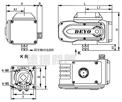 供应sdv电动执行器,阀门电动头,调节型电动执行器