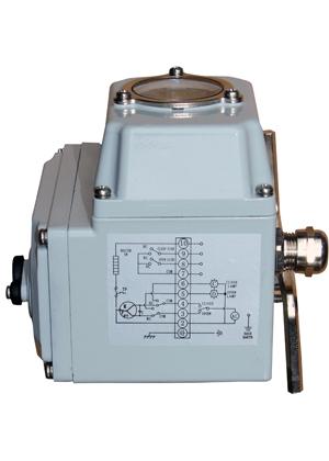 sdv电动执行器接线原理图