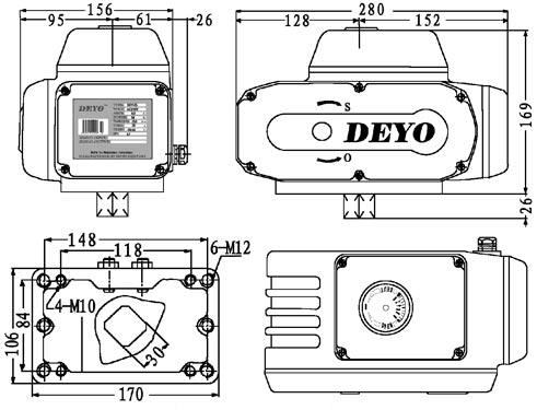 电动阀执行器接线图分享展示图片